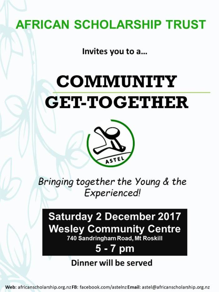 ASTEL Get Together Invitation flyer